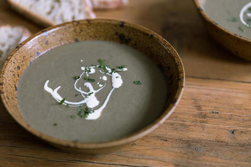healthy mushroom soup recipe