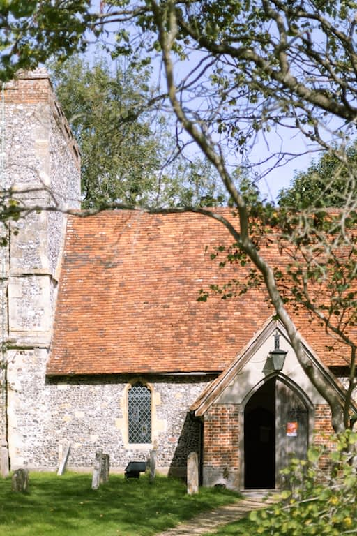 The Vicar of Dibley church in Turville