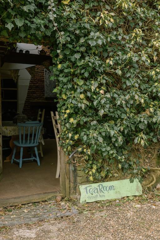 Outdoors wall of the Little Heath Farm Nursery in Potten End