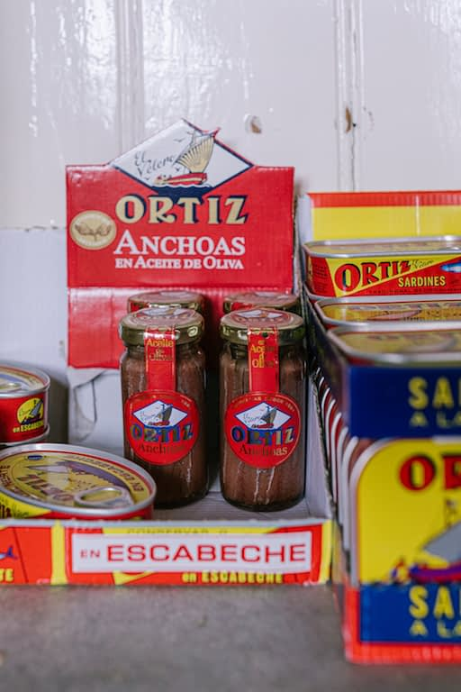 Spanish products at Little Hadham stores in Hertfordshire