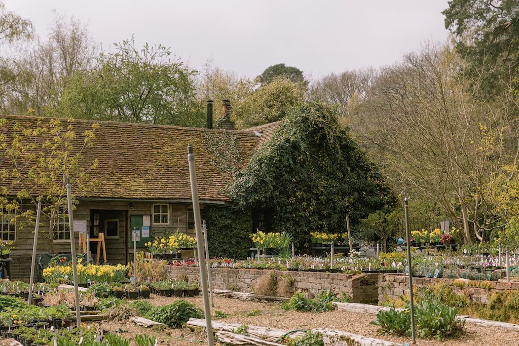 Outside of the Little Heath Farm Nursery in Potten End