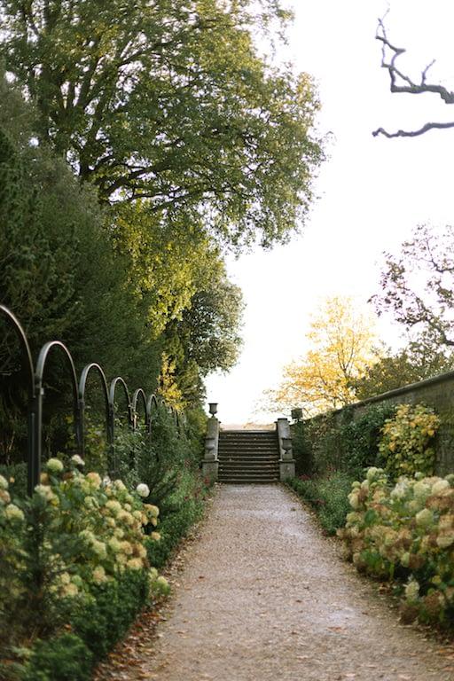 walled garden on the Ickworth Estate