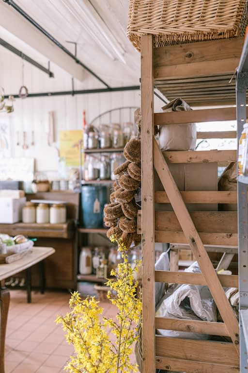 Interiors of Little Hadham Stores in Hertfordshire