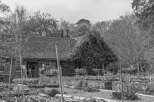The Outside of the Little heath farm nursery and tea room in Potten End