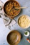 Root vegetables tajine recipe