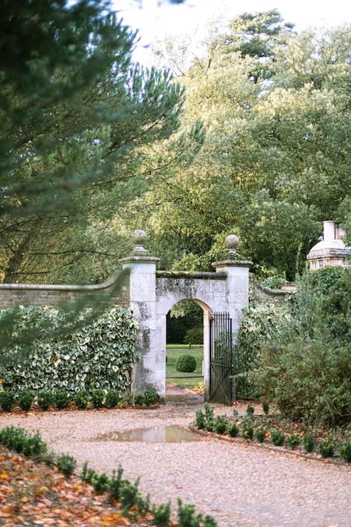 doorway to walled garden at Ickworth House