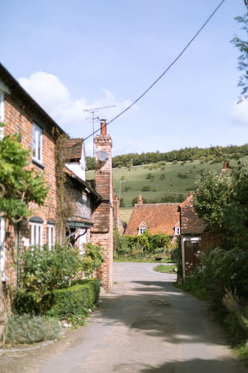 view-of-turville in chilterns