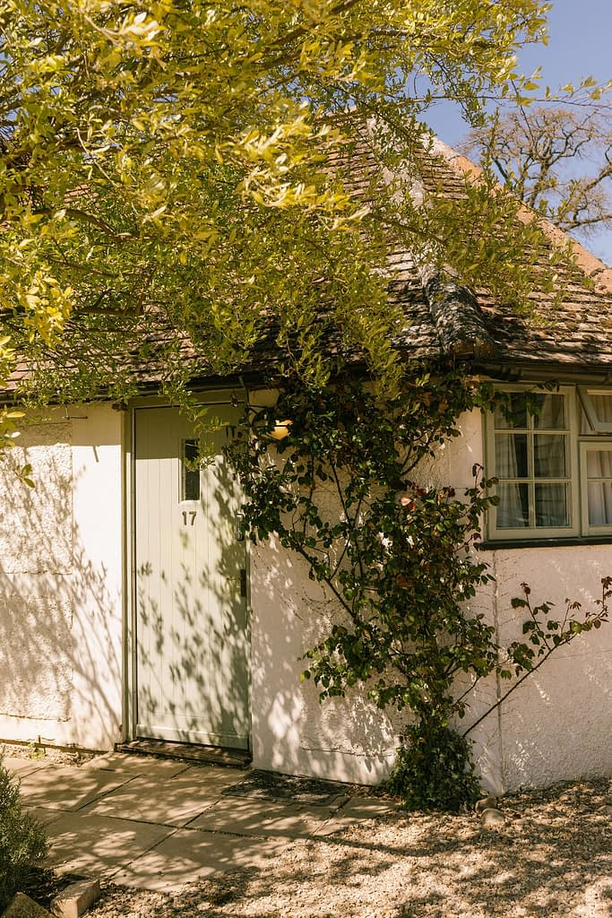country outbuilding at Farmhouse at Redcoats in Hitchin